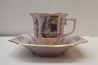 Cup and saucer 100 ml, decor 0562