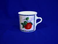 Cup, decor fruits, 500 Ml