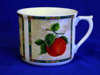 Cup, decor fruits, 700 Ml